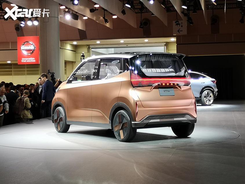 东京车展:日产IMk电动概念车正式亮相