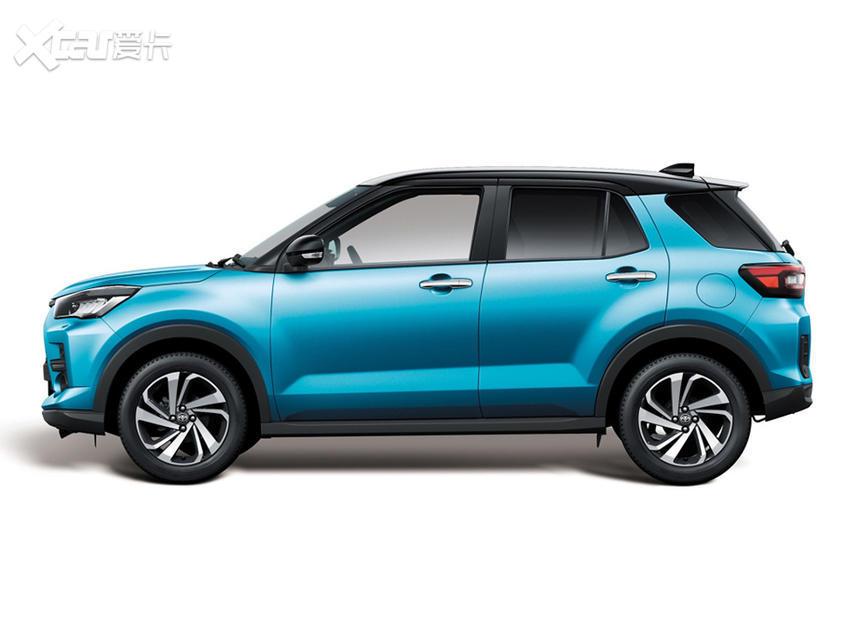 丰田新车型RAIZE官图发布 定位小型SUV