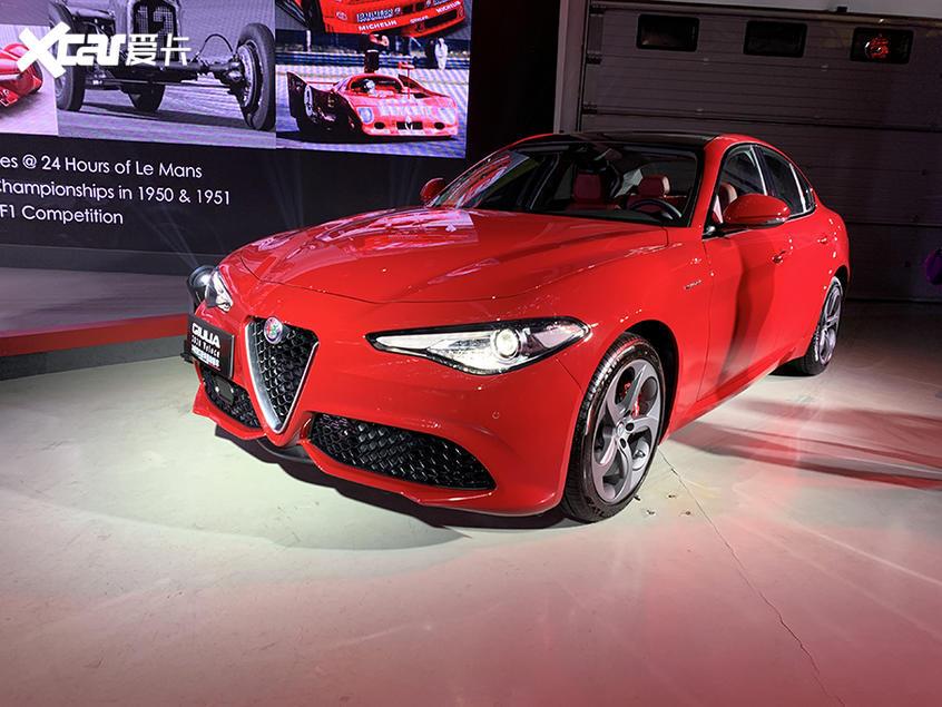 阿尔法·罗密欧两款新车上市 37.98万起