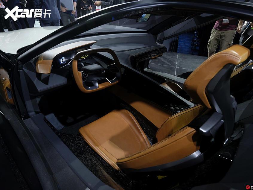 Karma SC2 Coupe概念车发布 外观很科幻