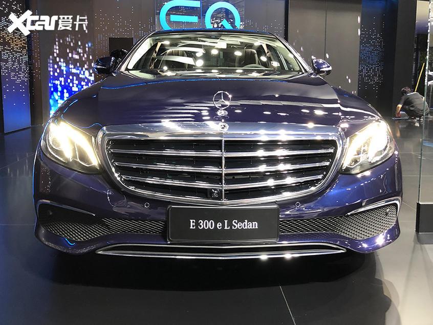 2019广州车展 北京奔驰E300 eL正式亮相