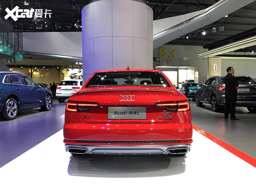 2019广州车展:新款奥迪A4L已正式亮相