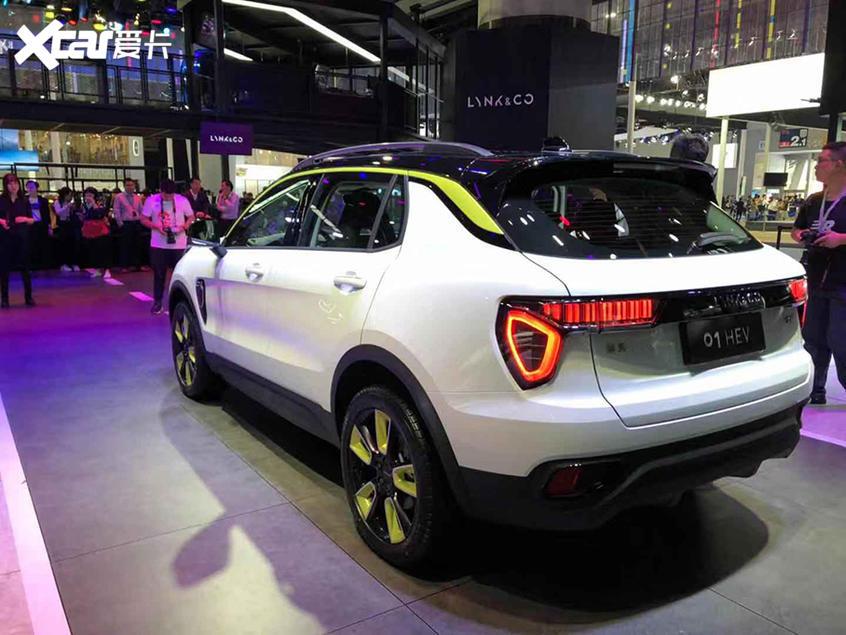 2019广州车展:领克01混动版正式上市