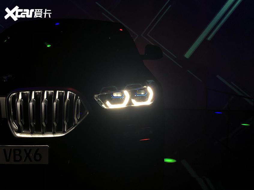 2019广州车展 宝马X6 Vantablack特别版