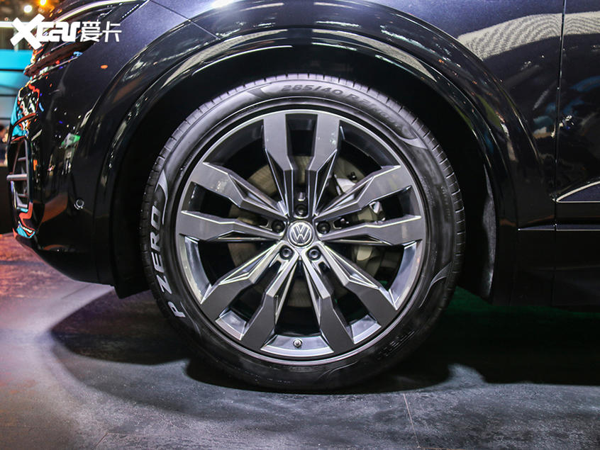 2019广州车展:大众途锐百万纪念版亮相