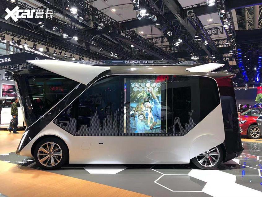 2019广州车展 广汽Magic Box概念车亮相