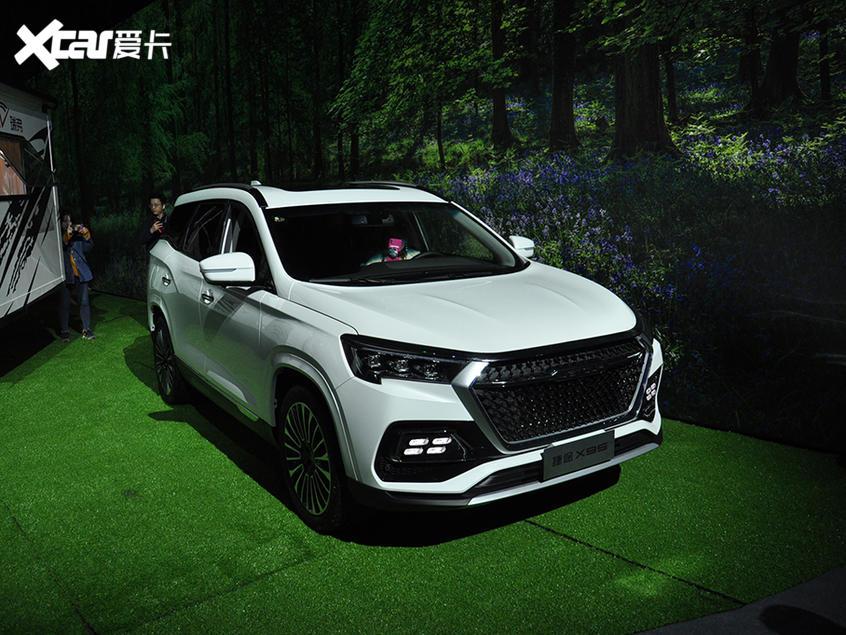 捷途X95上市 中大型SUV/售10.19万元起