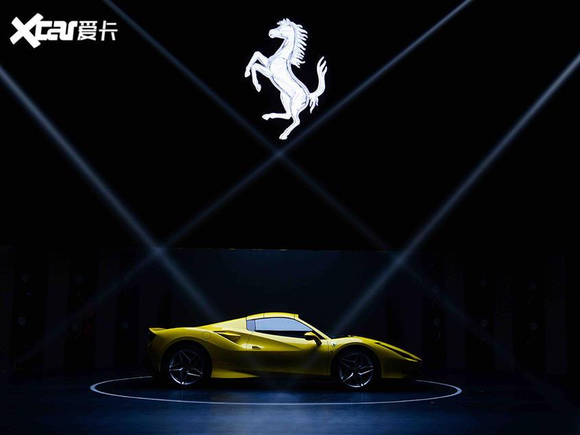 法拉利F8 Spider亚洲首发零百加速2.9s