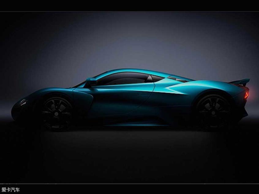 ARCFOX电动跑车预告图 日内瓦车展发布