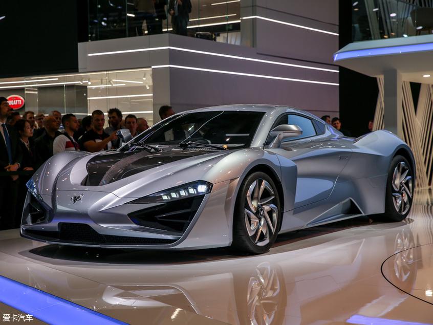 概念SUV抢眼 ARCFOX三款新车亮相日内瓦