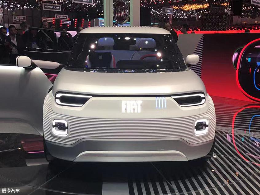 日内瓦:菲亚特Centoventi概念车发布