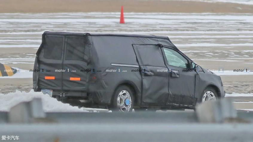 福特全新皮卡谍照 定位低于福特Ranger