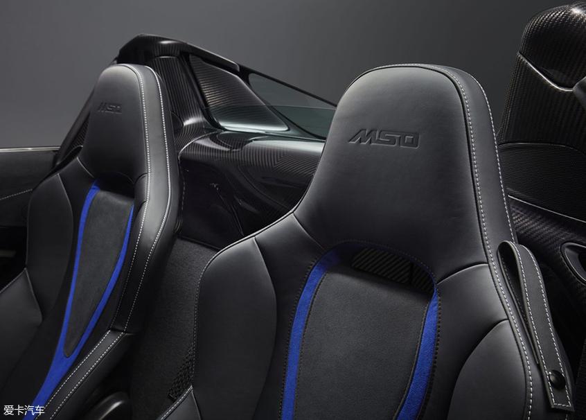 迈凯伦720S Spider MSO车型官图正式发布