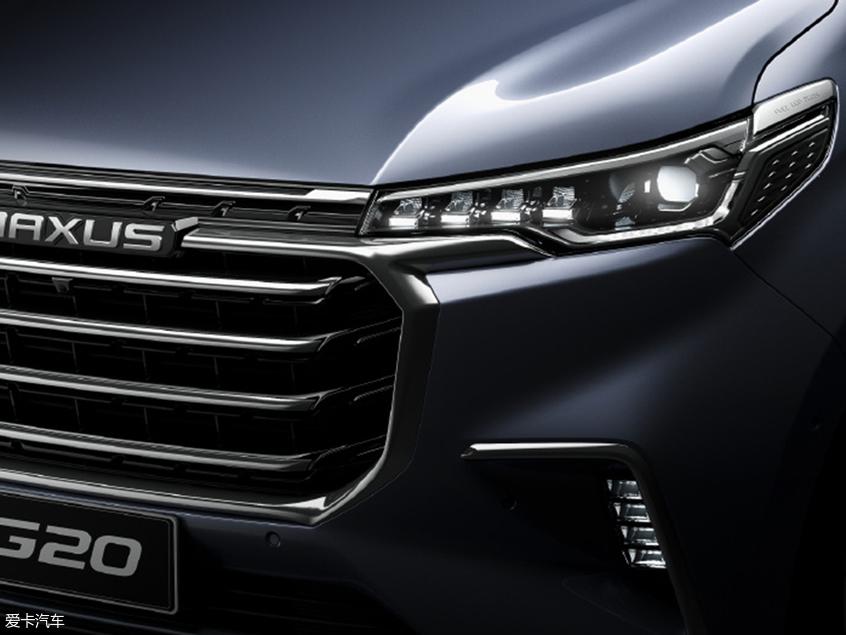 上汽大通G20预告图曝光 将上海车展首发