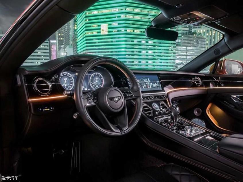新宾利欧陆GT官图发布 搭4.0L V8发动机