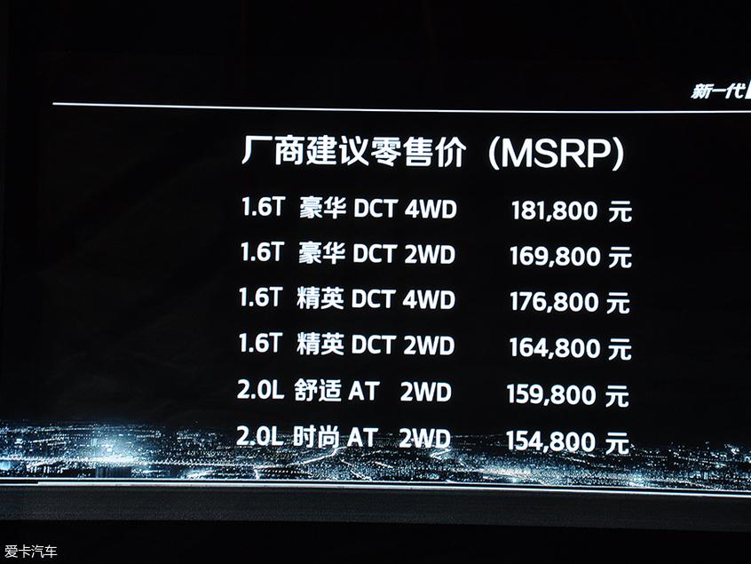 起亚新一代KX5上市 售15.48-18.18万元
