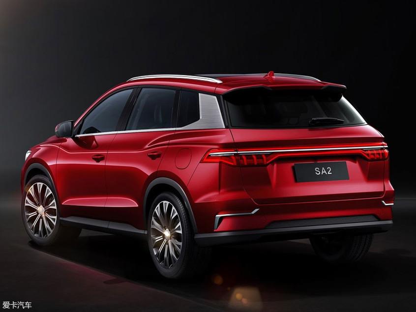 比亚迪全新SUV SA2官图发布