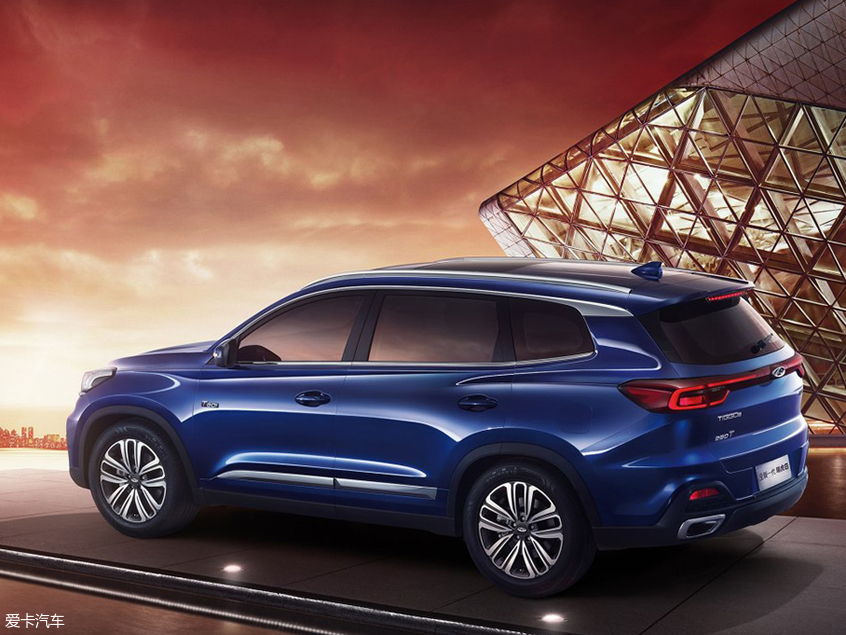 奇瑞新款瑞虎8官图发布 或上海车展亮相