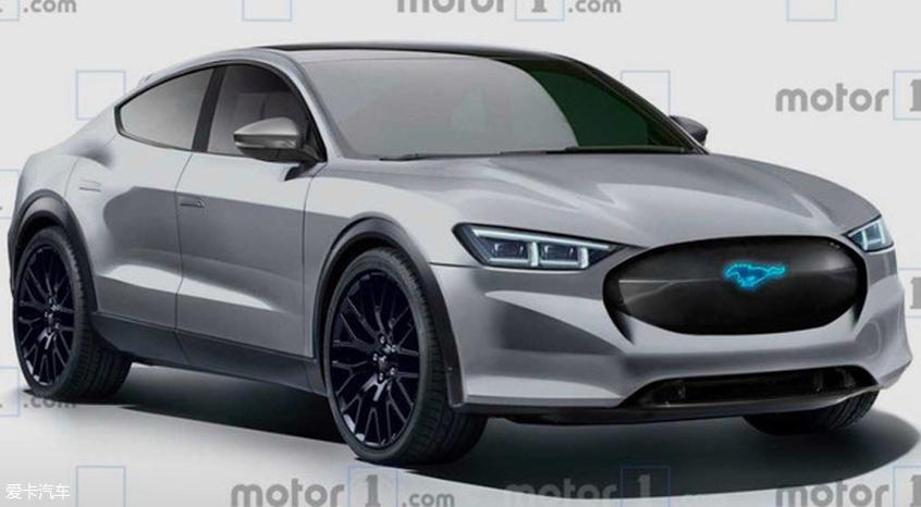 曝纯电版Mustang预告图 最大续航483km