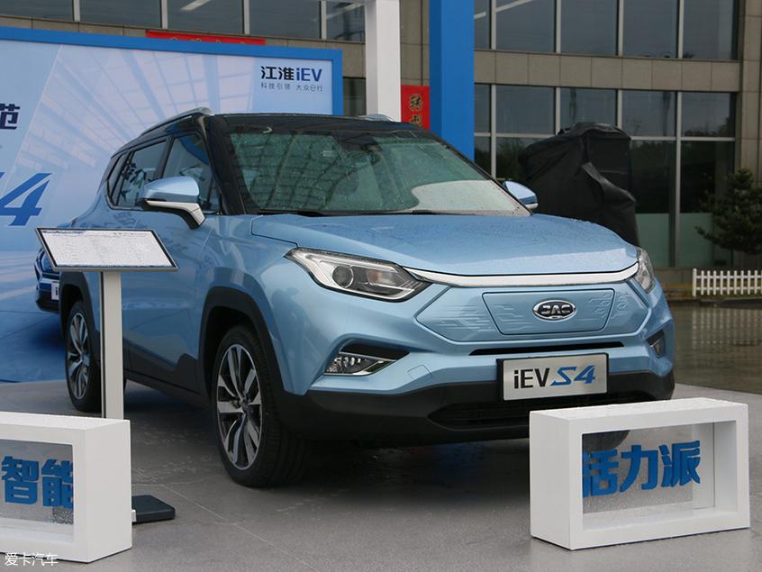 江淮iEVS4正式亮相 将于上海车展上市