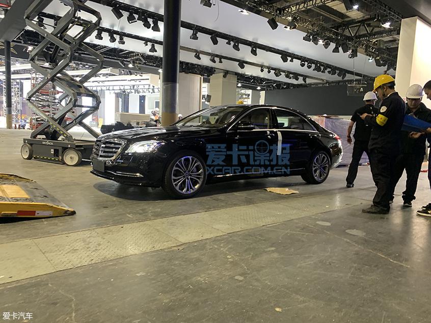 2019上海车展探馆:奔驰S560eL实拍图