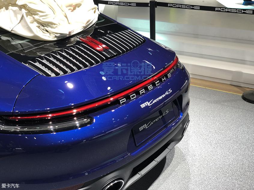 2019上海车展探馆:保时捷911 4S实拍图