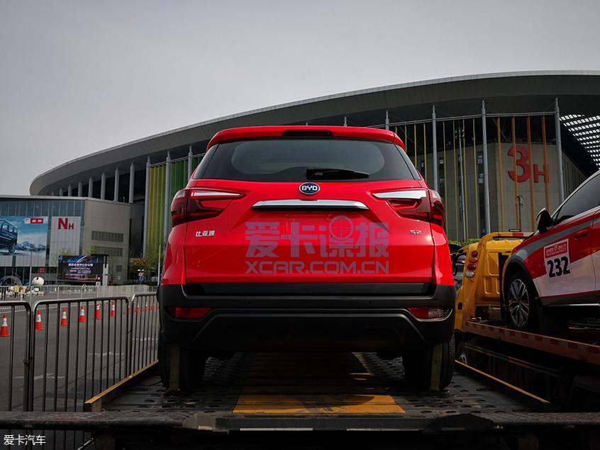 2019上海车展探馆:比亚迪S2实拍图曝光