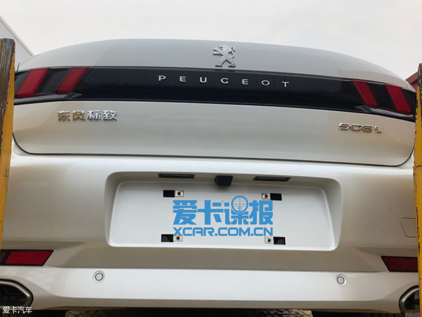 东风标致新一代508L插电式混动