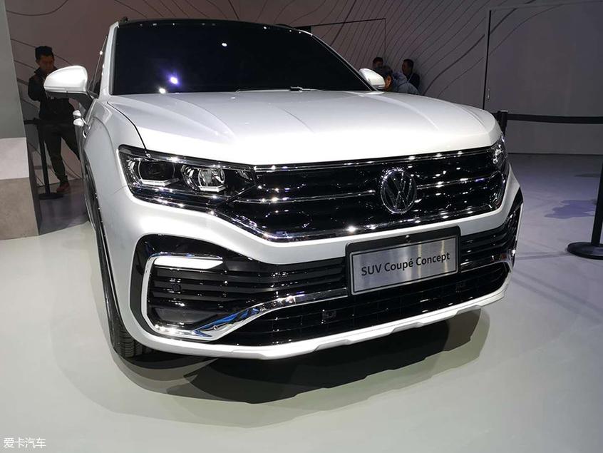 2019上海车展:大众探岳 Coupe概念车