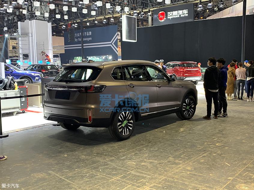 2019上海车展探馆:汉腾X8车型实拍图