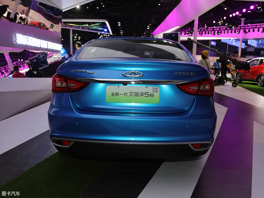 2019上海车展:新款艾瑞泽5e正式亮相