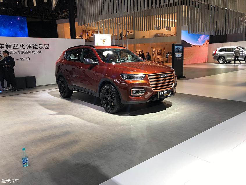 2019上海车展探馆 哈弗H6 纪念版实拍图