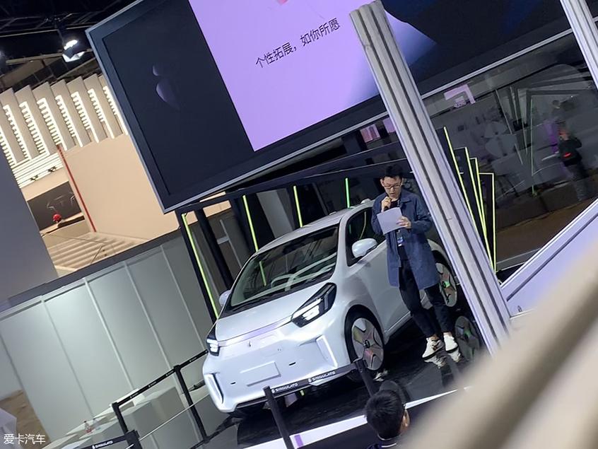 2019上海车展探馆:奇点iC3车型实拍图