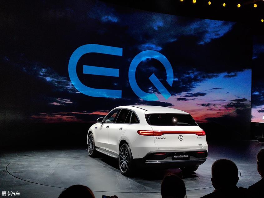 2019年上海车展:奔驰EQC正式发布亮相