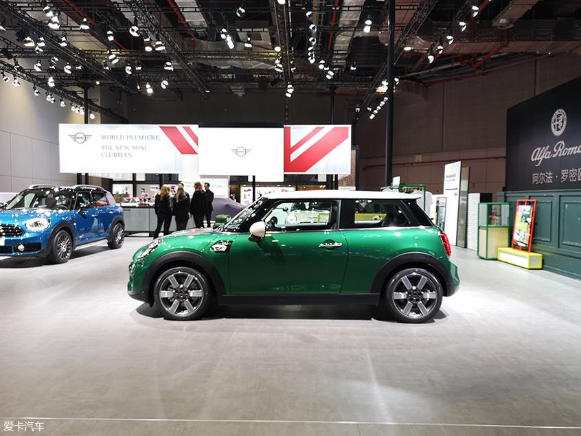上海车展:MINI 60周年纪念版正式亮相