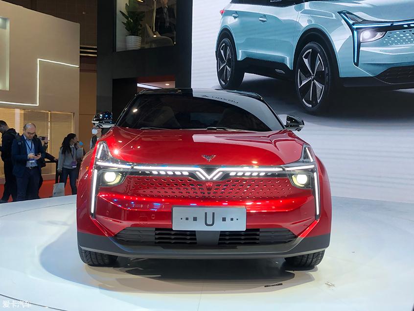 2019上海车展:合众纯电动汽车开启预售