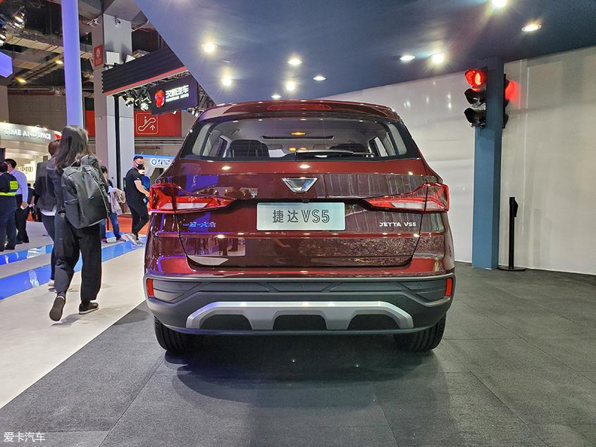 2019上海车展 捷达品牌VS5车型正式亮相
