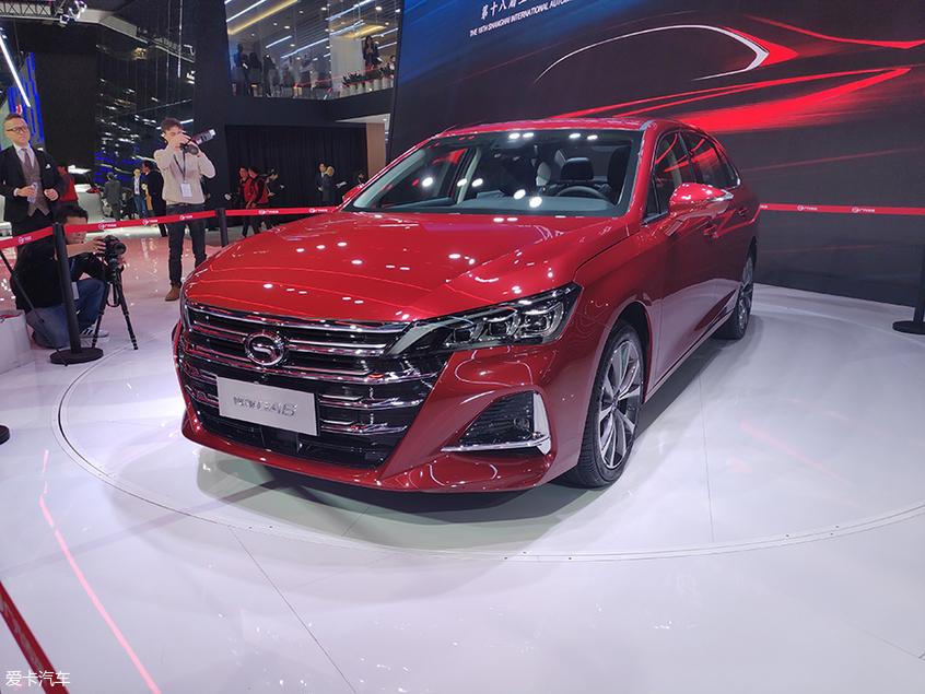 2019上海车展 广汽传祺全新GA6正式亮相