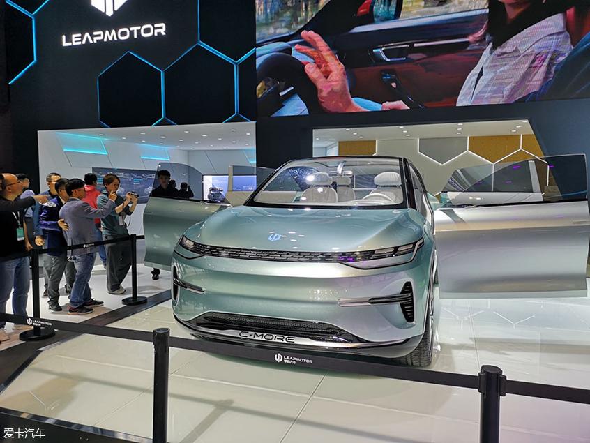 2019上海车展:零跑C-more概念车发布