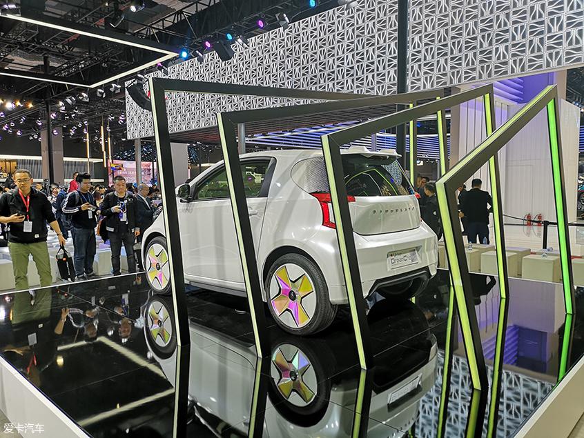 2019上海车展 奇点全新车型iC3正式亮相