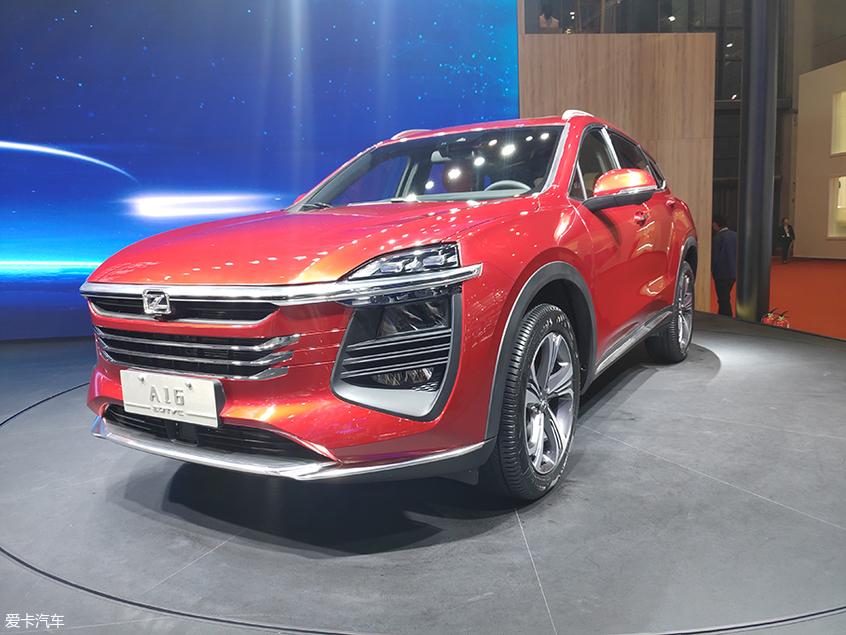 2019上海车展:众泰新SUV A16正式亮相