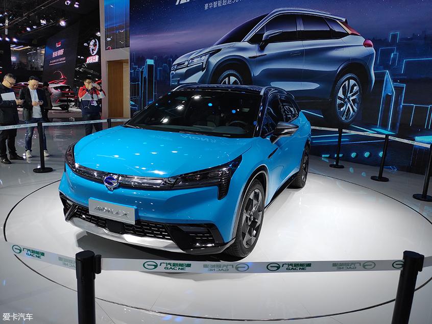 2019上海车展:广汽新能源A12首发亮相