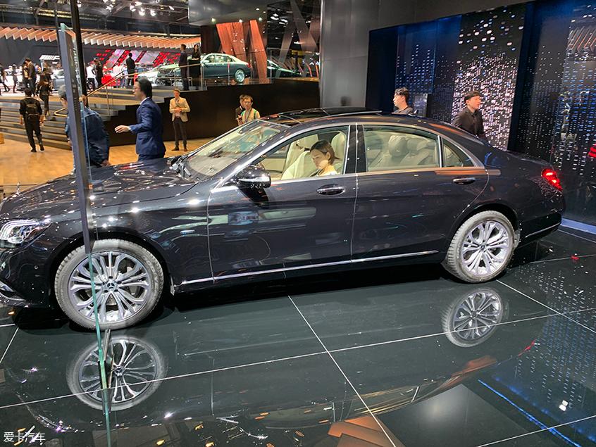 2019上海车展:奔驰S560eL车型正式亮相