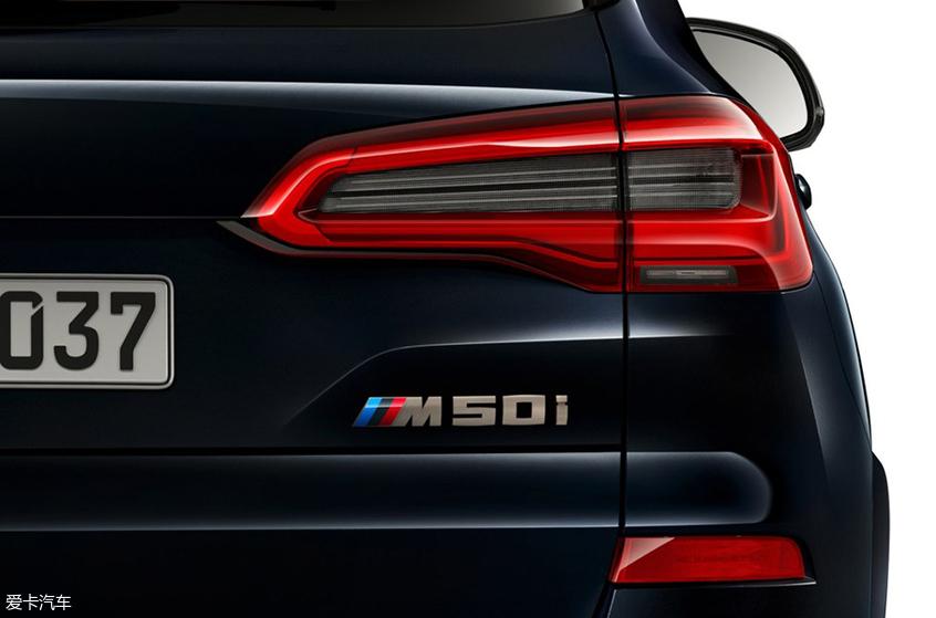 性能堪比X5M 宝马X5 xDrive M50i官图