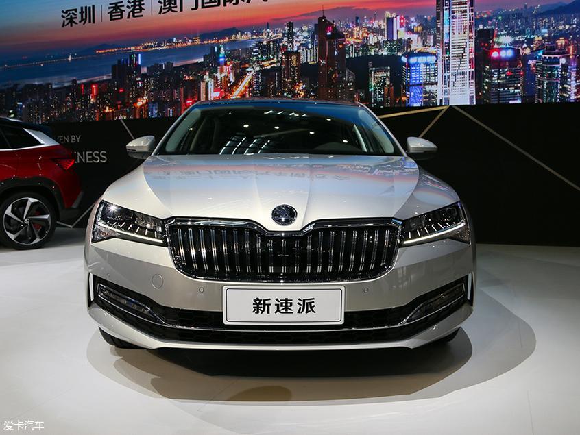 2019深港澳车展 斯柯达新速派正式亮相