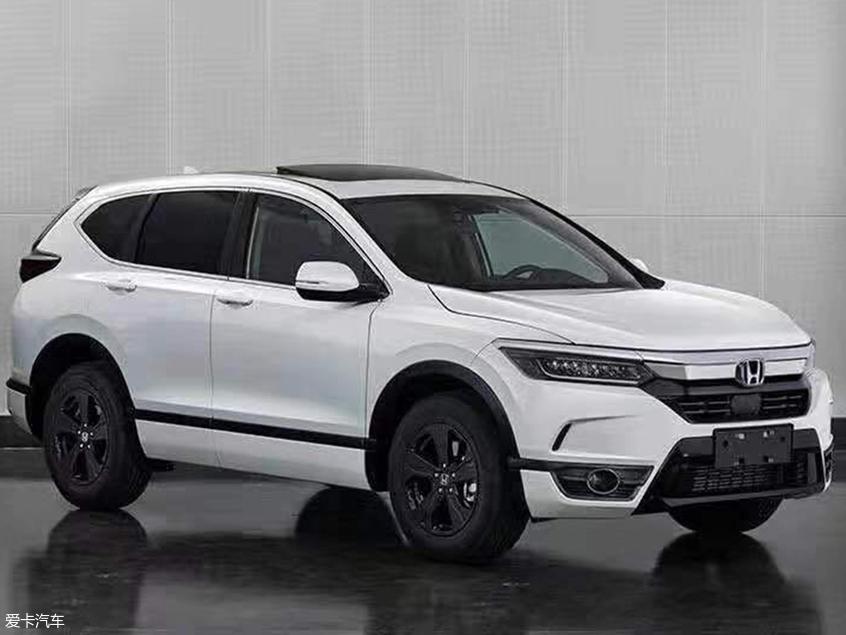 广汽本田BREEZE申报图曝光 紧凑型SUV
