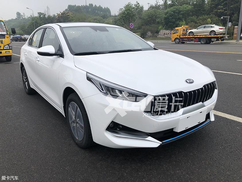 2019成都车展探馆 新起亚K3 PHEV实拍图