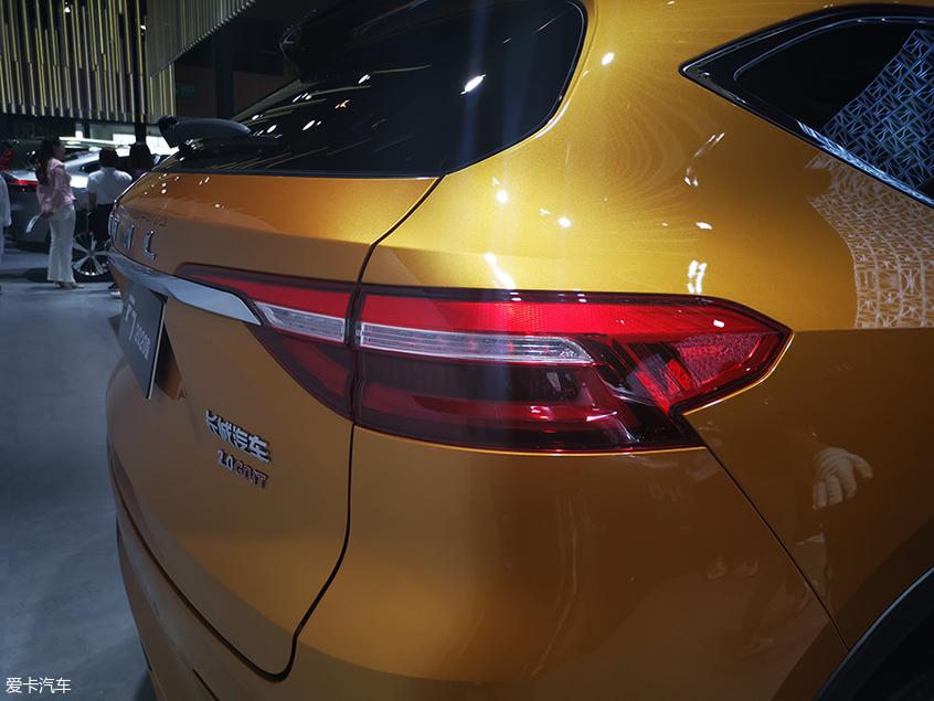 2019成都车展:2020款哈弗F7正式亮相