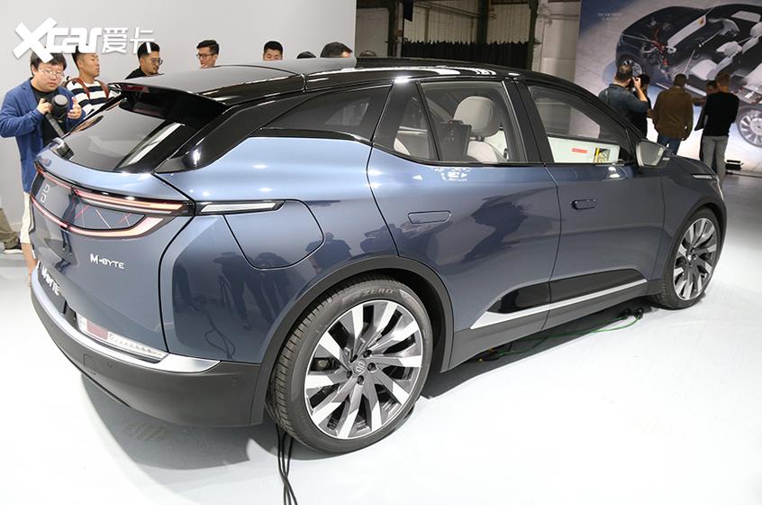 法兰克福车展:拜腾M-Byte量产车型亮相