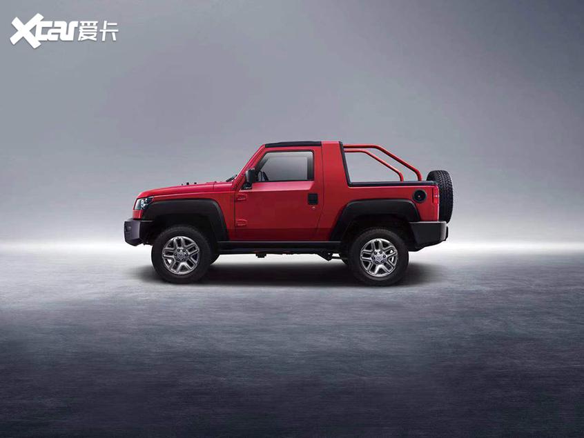 北京越野F40将9月16日上市 硬派皮卡车